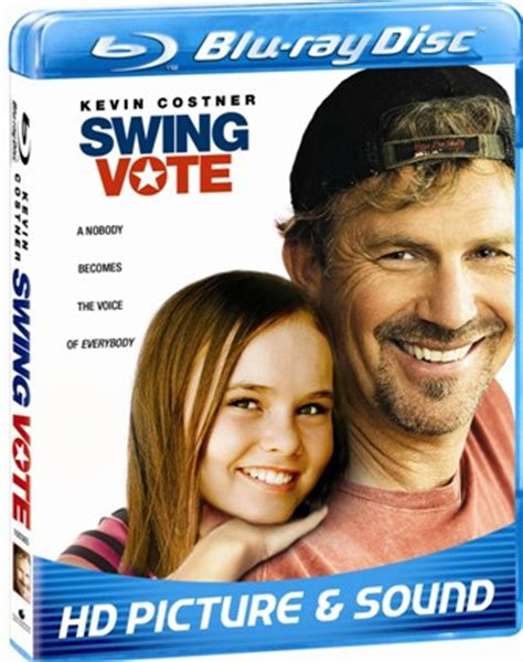 swing vote summary blu ray review swing vote wastes great cast on