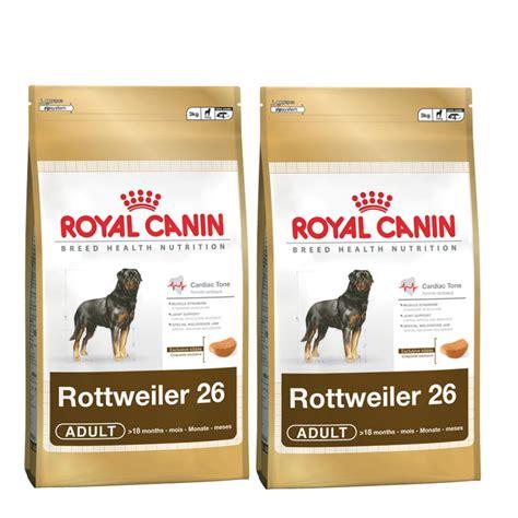 royal canin rottweiler royal canin rottweiler complete food 2x12kg feedem