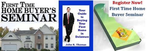 delaware time home buyer seminar archives get fha