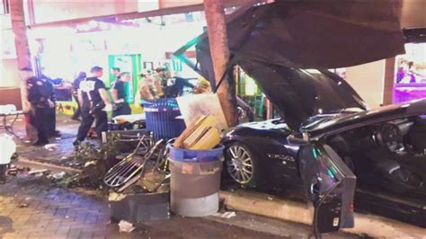 Car Lawyer In Fort Lauderdale 5 by Car Slams Into 5 On Fort Lauderdale Sidewalk