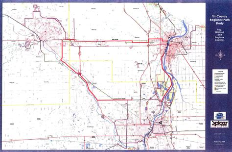 map of saginaw mi trail loop nearly 40 in works to connect