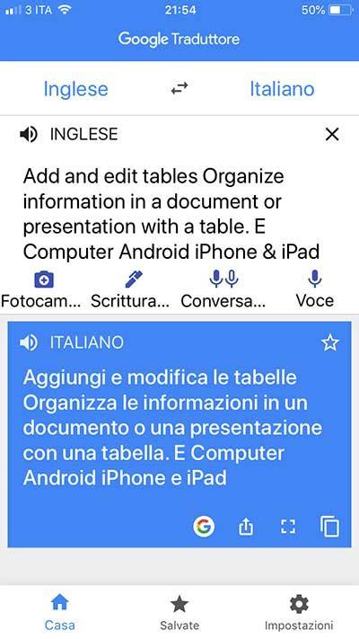 tradurre testo tradurre testo da immagine con iphone guideitech