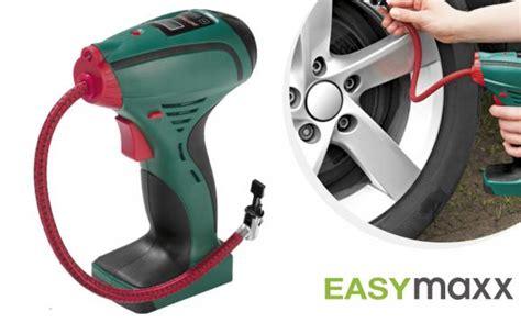 luchtbed compressor easymaxx draagbare luchtcompressor voor auto en