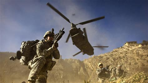 afghanistan war us forces in heavy fighting clashes and