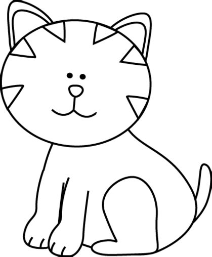 Black and white cat clipart clipart collection dog and cat clipart black free vector