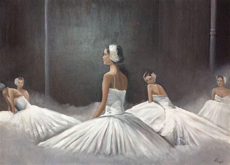cuadros de bailarinas de ballet bailarinas de ballet cuadro original acr 237 lico sobre