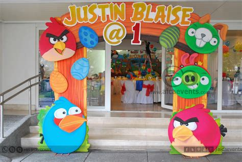 bird decoration aicaevents angry bird theme decors for birthday