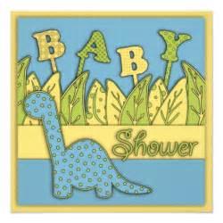 dinosaur theme baby shower 5 25x5 25 square paper