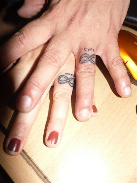 couple tattoo rings 138 best images about world of tattoos on