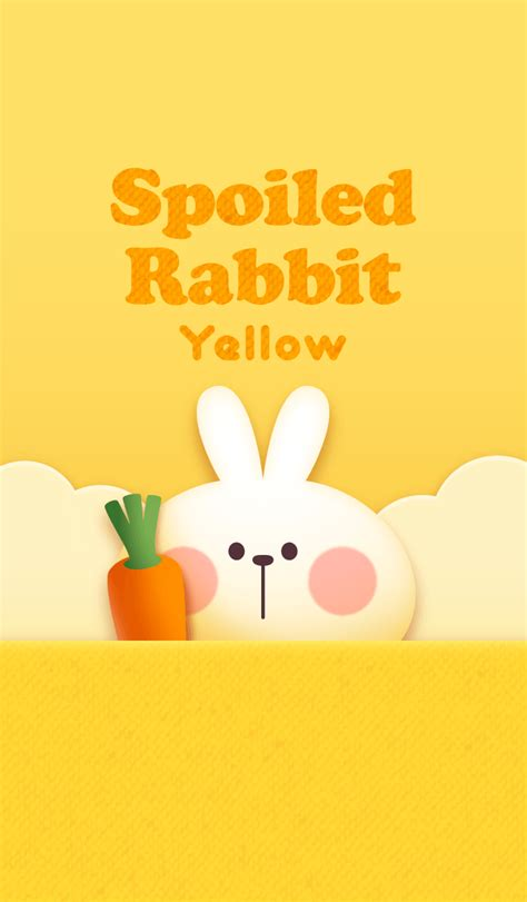 link theme line yellow ขายธ มไลน theme line spoiled rabbit quot yellow quot ราคาถ ก