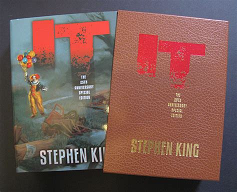 doesn t frighten me 25th anniversary edition books stephen king s it a 25th anniversary review taxi