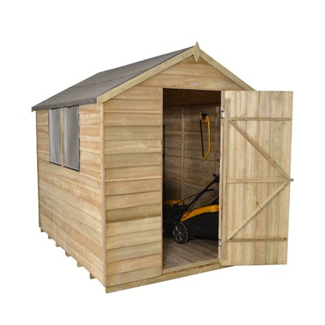Overlap Sheds by Overlap Pressure Treated Apex Shed