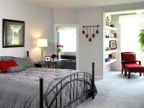 gray bedroom modern bedroom design with white wall interior color decor