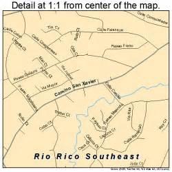 southeast arizona map 0460190