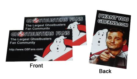 ghostbusters id card template ghostbusters business cards pictures to pin on