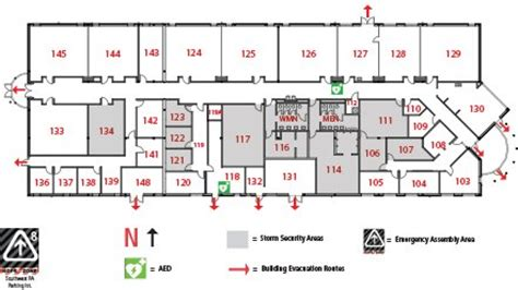 jccc layout police academy building map pa