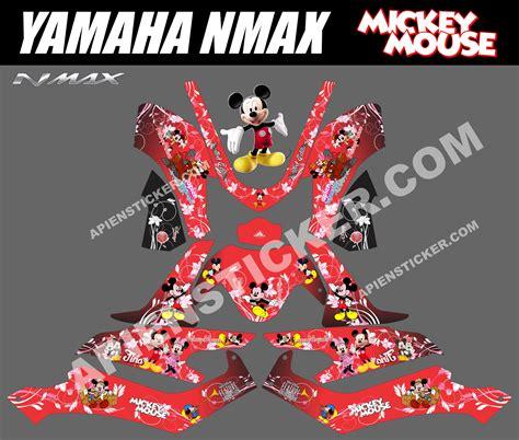 Terbaru Sticker Striping Motor Stiker Yamaha Nmax Green Thunder Monst 64 modifikasi cutting sticker yamaha nmax modifikasi yamah nmax