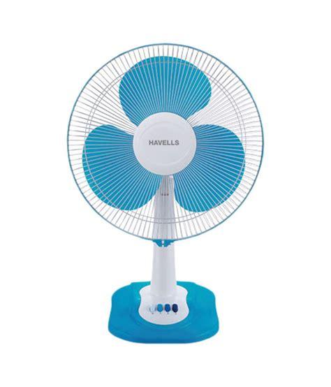 fan swing havells 400 mm swing zx table fan d blue price in india
