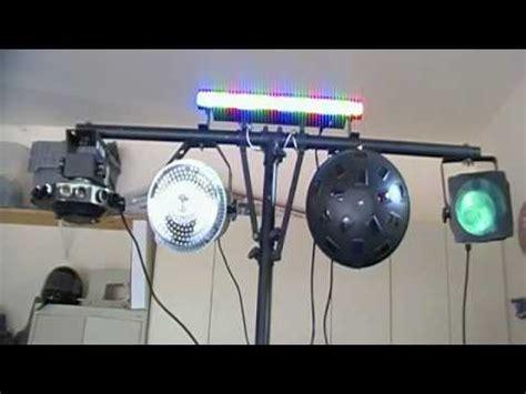 simple dj lighting setup my mobile dj setup