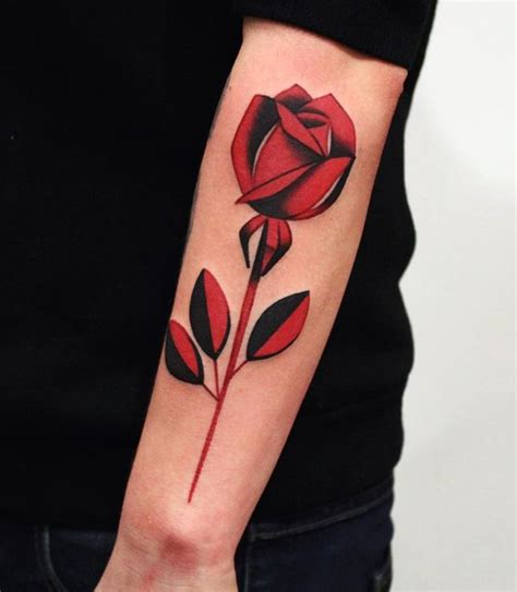 dark red rose tattoo best 25 sleeve tattoos ideas on