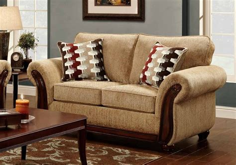 Chenille Sofa 816 by 81001 Sofa In Taupe Chenille Fabric W Options