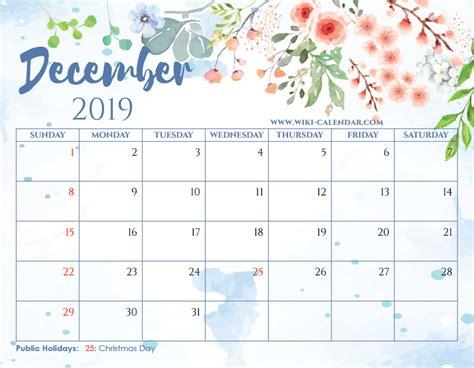 blank december  calendar printable   heart