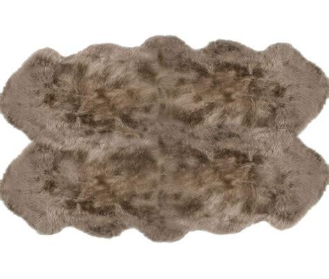 auskin sheepskin rug sheepskin rugs 4 pelt auskin premium taupe ultimate