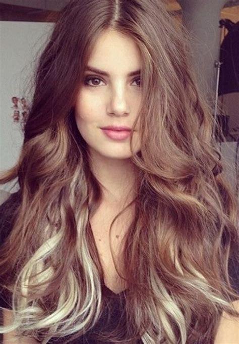 cute brown hair color ideas  womens  messy