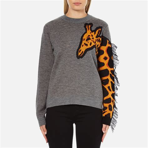 Girafe Jumper ps by paul smith s giraffe jumper grey free uk