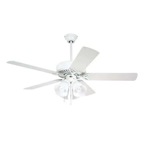 emerson ceiling fan white hunter caribbean breeze 54 in indoor textured white