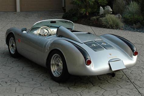 porsche spyder 1955 1955 porsche 550 spyder re creation 81789