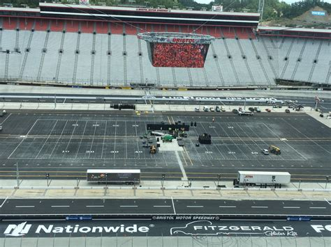barber motor speedway transforming speedway into football stadium for battle at