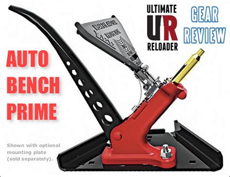 ultimate reloader bench ultimate reloader reviews the lee auto bench prime 171 daily bulletin