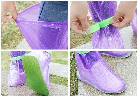 Pelindung Sepatu Shoes Cover Pvc Anti Bocor Banjir Waterproof Boots cover hujan sepatu size xl blue jakartanotebook