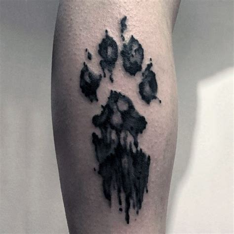 Awesome Paw Images Part 2 Tattooimages Biz Leopard Paw Print Tattoos