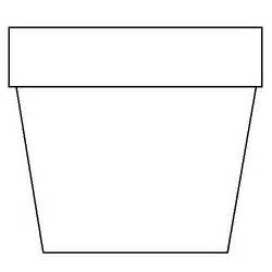 flower pot coloring page flower pot coloring page clipart best clipart best