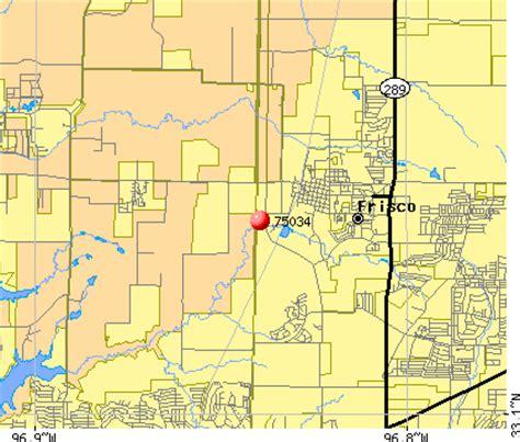 frisco texas zip code map frisco zip code map 75033 zip code map