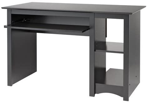 Prepac Computer Desk Black Computer Desk By Prepac