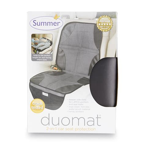 2 in 1 car seat protector summer infants duomat 2 in 1 car seat protector baby