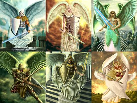 Arching Ls the bible of mysteries what are archangels