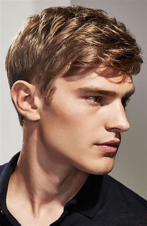 Boys Swept Across Fringe Hairstyles | 20 coolest men s fringe hairstyle inspiration fringe