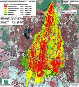 Bastrop State Park Map by Tpwd Sept 4 2011 Bastop Wildfire