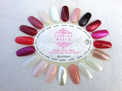 perfect match colors lechat perfect match original 20 shades swatch nail