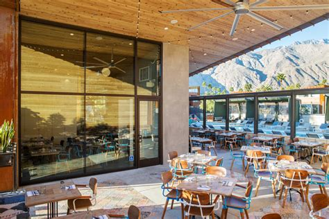 Outdoor Kitchen Idea by Hottest Restaurants In Palm Springs Sunset