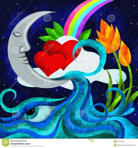 imagenes libres luna luna y coraz 243 n