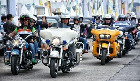 komunitas hdci targetkan bikers luar negeri datang