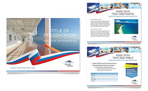 travel powerpoint templates cruise travel powerpoint presentation template