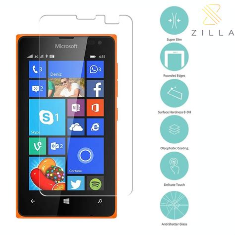 Korean Tempered Glass Warna Nokia 5 2017 5 2inch Screen Protector zilla 2 5d tempered glass curved edge 9h 0 26mm for nokia lumia 430 dual sim jakartanotebook