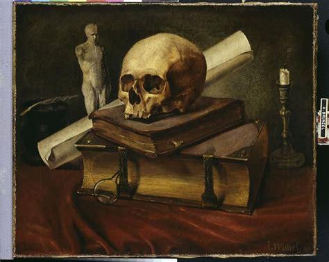 Nature Morte Vanité by Wimmel Johannes 1823 1892 Nature Morte Vanit 233