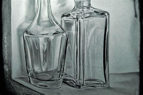imagenes para dibujar en vidrio botellas de cristal 03 dibujo a l 225 piz fotograf 237 a